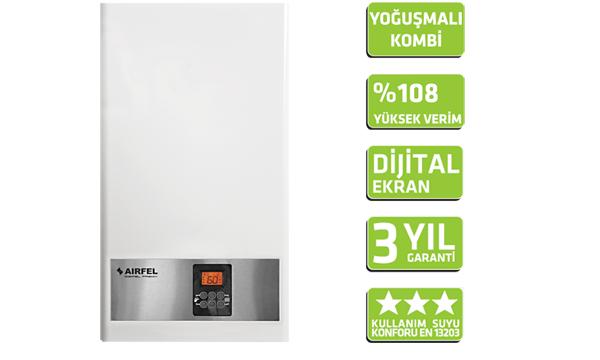 Airfel Piremix 25KW Yoğuşmalı Kombi 2600 TL (KDV Dahil)